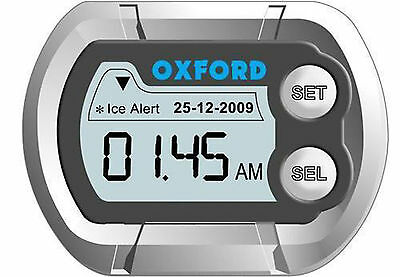 Oxford Motorcycle Motorbike Bike Digital Digi Micro Waterproof Deluxe Mini Clock