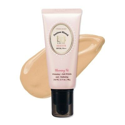 [ETUDE HOUSE] Precious Mineral BB Cream Blooming Fit (SPF30/PA++) 60g