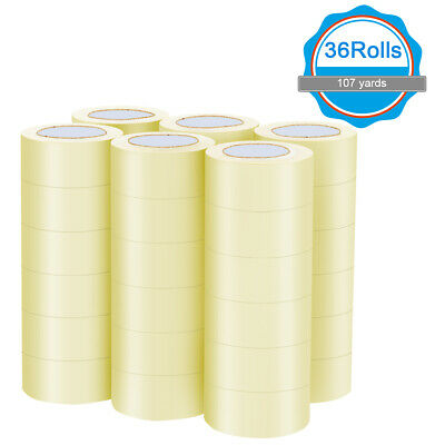 "SEALPLUS 36 Rolls-2""x110 Yards(330' ft)–Box Carton Sealing Packing Package Tape"