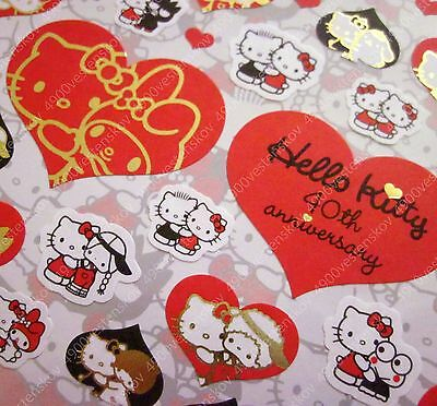 Sanrio Original Made in Japan Hello Kitty & characters 40th Anniversary sticker