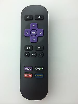 New Roku Replacement Remote for ROKU 1 2 3 sd/hd/hd-xr/xd/xds/xs/lt Netflix MGO