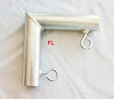 """2 way CORNER  FITTING (FL) ~ 3/4"""" Pipe Canopy Parts"""