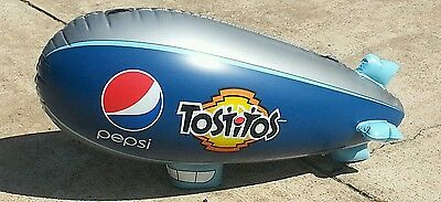 Large Inflatable Pepsi / Tostitos Blimp !!!