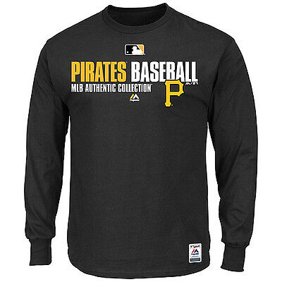 MLB Baseball Favorite Longsleeve Shirt PITTSBURGH PIRATES Authentic Collection