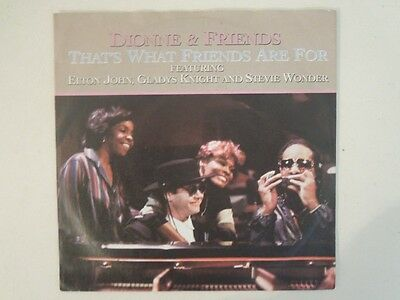 "Dionne & Friends - That's What Friends Are For  7"" Vinyl Single"