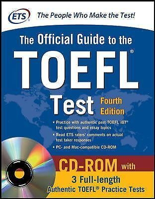 FREE 2 DAY SHIPPING: Official Guide to the TOEFL Test With CD-ROM, 4th Edition (