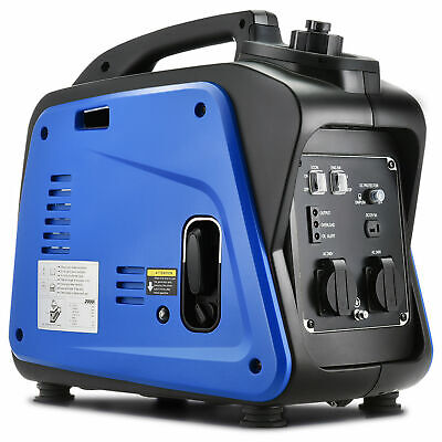 [20%OFF]GenTrax Inverter Generator 2KW Max 1.7KW Rated Pure Sine Petrol Portable