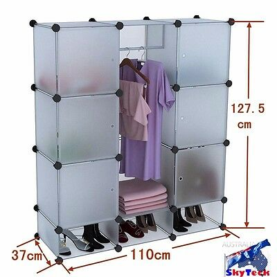 4 layers PP Shelves Closet Storage Organizer Space Saver Clothes Shoe Rack SC12A