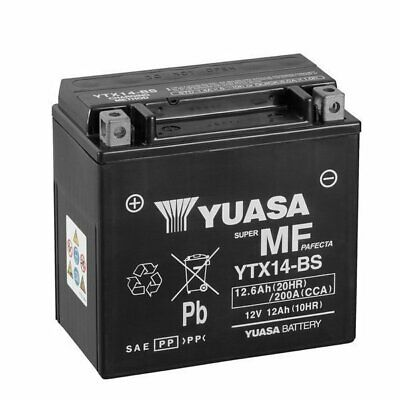 Batteria Moto Originale Yuasa YTX14-BS BMW R GS Adventure (K51) 1200 14