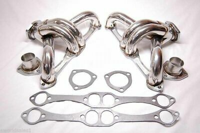 350 327 305 CHEVY STAINLESS STEEL HEADERS HUGGER SBC EXHAUST Manifolds Racing
