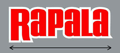 """12"""" Rapala High Quality Decal Sticker Tackle Box Lure Fishing Boat Truck trailer"""