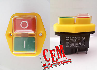 Electric Switch Kedu kjd17B KB-01 control and saefty KJD 17 B IP55 230 Volt