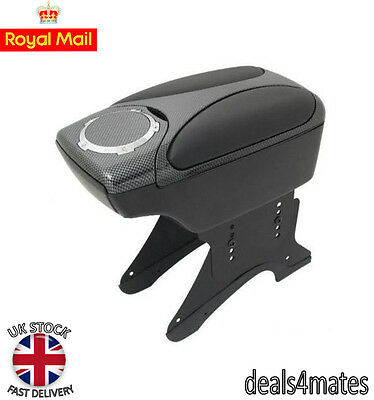 Carbon Armrest Arm Rest Console for VAUXHALL TIGRA ZAFIRA CORSA ASTRA VECTRA NEW