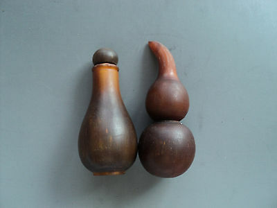 China ox horn carving works - Snuff bottles and gourd 把玩件