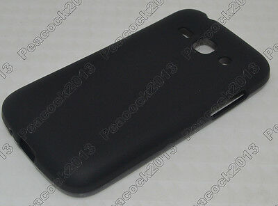 Black Matting TPU Silicone CASE Cover For Samsung Galaxy Ace3 S7272