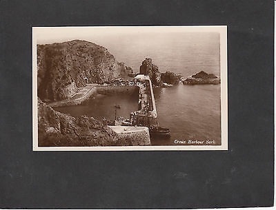 Postcard - View of Creux Harbour, Island of Sark