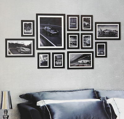 Multi Picture Photo Frame Frames 12 Pieces 150 x 75cm Wall Frames Set Collage