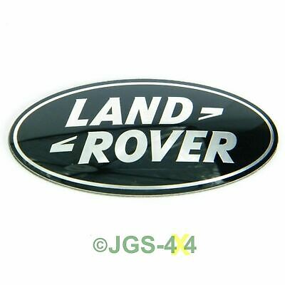Land Rover Range Rover Sport Supercharged Grill Badge Black & Silver - DAG500160