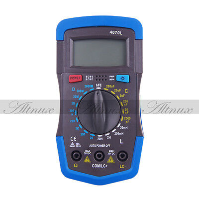 Portable LCD Digital LCR RCL Inductance Capacitance Resistance Meter Multimeter