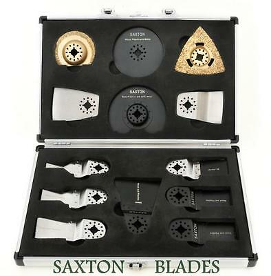 13 Saxton Blades Universal Case Set Fein Multimaster Bosch Makita Multitool