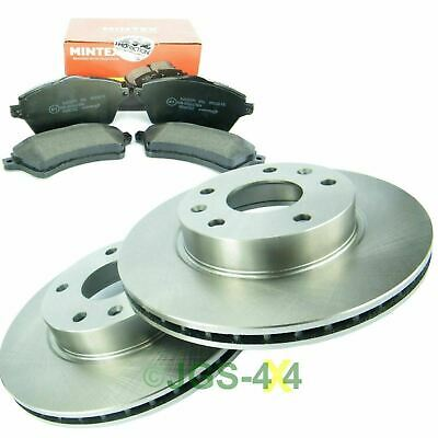Freelander 1 TD4 Front Brake Discs Set & MINTEX Front Brake Pad Kit Vented