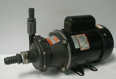 MARCH TE-5.5C-MD Mag Drive Centrifugal Pump MARATHON Motor PQJ56A34F7A