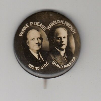 [45935] UNDATED PIN INDEPENDENT ORDER OF ODD FELLOWS PARKE P. DEANS GRAND SIRE