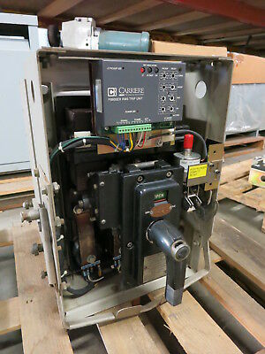 GE AK-1-25 600A Air Breaker /w LSIG Carriere FB600ER RMS Trip General Electric
