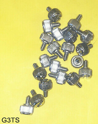 NEW LOT 8: Tool-Free Round Overhead Thumb Screws for Computer ATX PSU ,Case, PC
