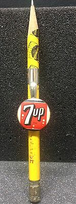 [45987] Undated Pencil Clip 7-Up Soda & Pencil