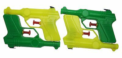Evo 4 Pack Water Gun Small Pistols Plastic Kids Children Party Bag Fillers