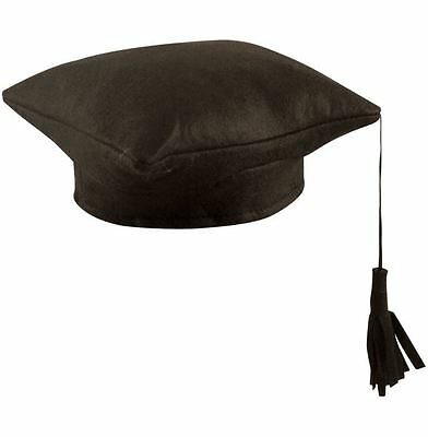 Hat Mortar Board Graduation College School Fancy Dress Accessory Hen/stag Party