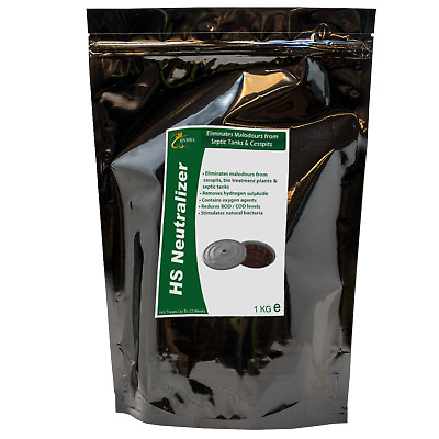 Septic Tank Smell Cleaner 1KG  HYDRA HS NEUTRALIZER Smelly Septic Tank Treatment