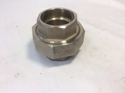 "2 1/2"" Socket Weld Pipe Union Fitting, 150 Psi, 304 Ss"