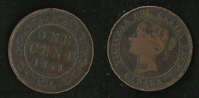 Canada : One Cent 1859