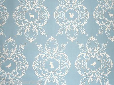 Gutterman French Cottage Blue Fabric 100% Cotton Quilting/Patchwork/Sewing