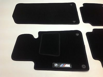 Alfombras Alfombrillas Bmw 3 series E30 1982-1994 coche M Power velour a medida