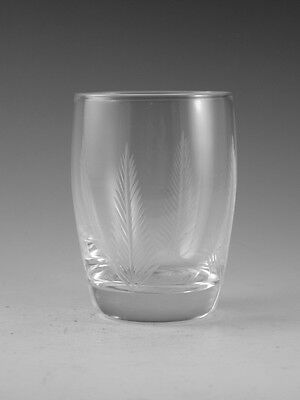 "STUART Crystal - WOODCHESTER Cut - Juice Tumbler Glass / Glasses - 3 1/4"" (2nd)"