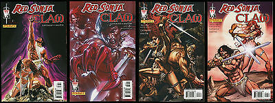 Red Sonja Claw Comic full set 1-2-3-4 Lot Robert E Howard REH Alex Ross cvr art