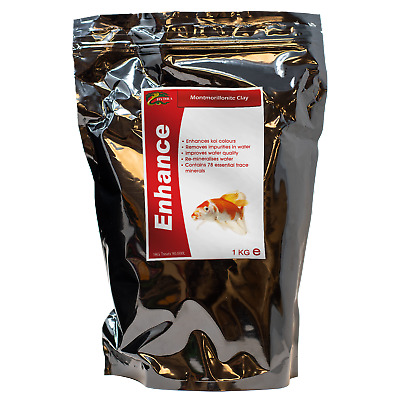 Fish Koi Colour Enhancer Bentonite Clay HYDRA ENHANCE 1KG Pond Water Treatment