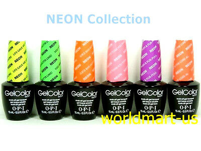 OPI GelColor UV/LED Soak off Gel Color * NEON Collection * Choose Any Color