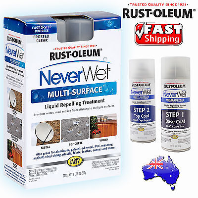 NeverWet Never Wet Rust-Oleum Multipurpose Waterproof Coating Spray Rustoleum