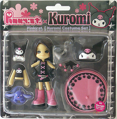 Pinky Street Pinky:st PC007 Sanrio Hello Kitty KUROMI Rei Vinyl Toy Figure Anime