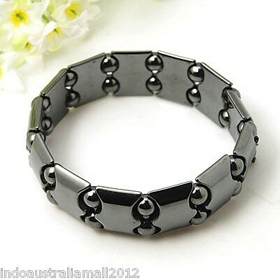 Non-Magnetic Hematite Bracelet for Arthritic Pain and Blood Pressure (IMB003)