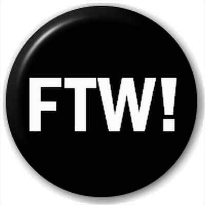 Small 25mm Lapel Pin Button Badge Novelty Ftw!