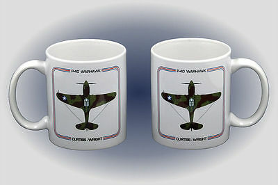 P-40 Warhawk Coffee Mug - Dishwasher and Microwave Safe