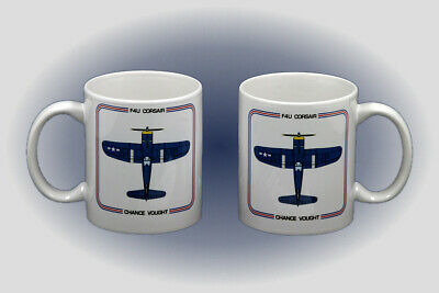 WW II F4U Corsair Coffee Mug - Dishwasher and Microwave Safe
