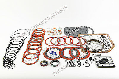 TURBO 350 Transmission Rebuild Kit 69-79 Alto Red Eagle Hi Performance Bushings