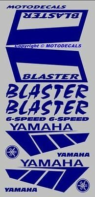 Blaster Front Rear Fender Decal Sticker Graphics kit Tank Emblems