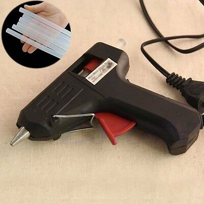 New 20W Electric Heating Hot Melt Glue Gun OR 7mm Glue Sticks Repair Tool Craft